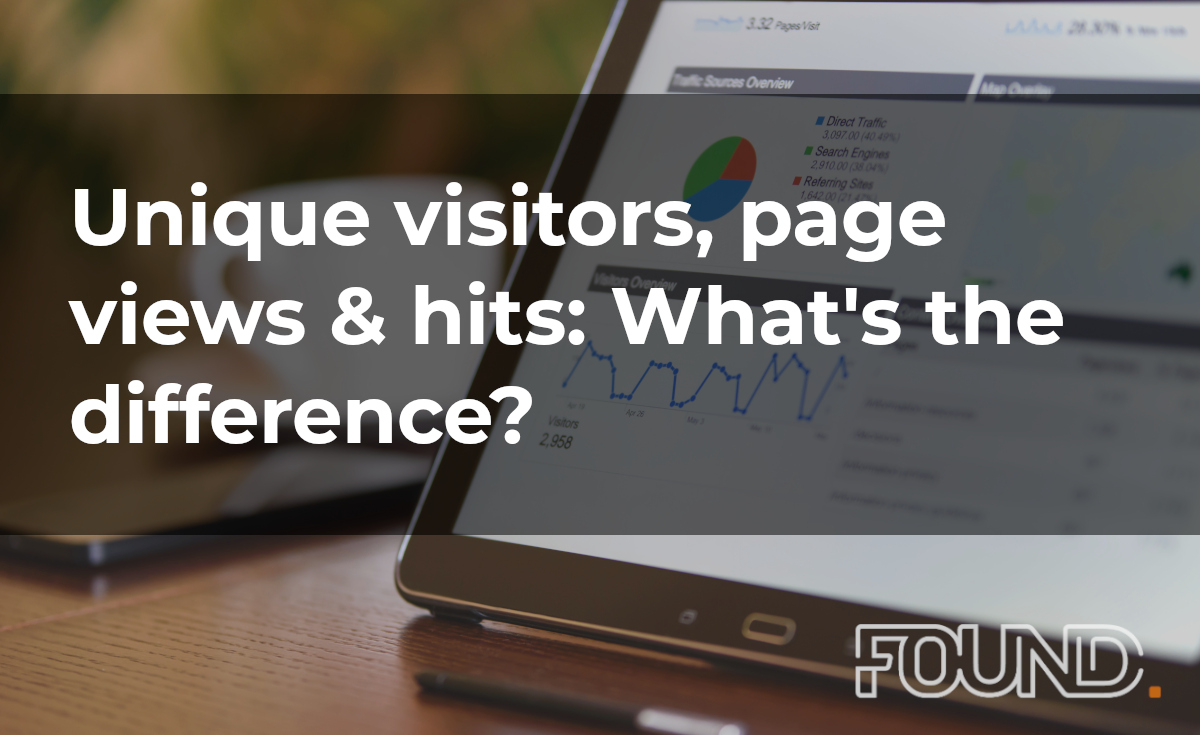 Visitors, Page Views & Hits: What's The Difference?