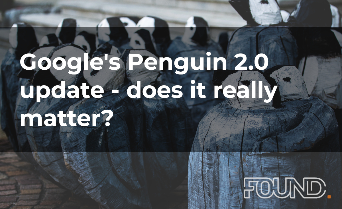 Google's Penguin 2.0 update - does it really matter?