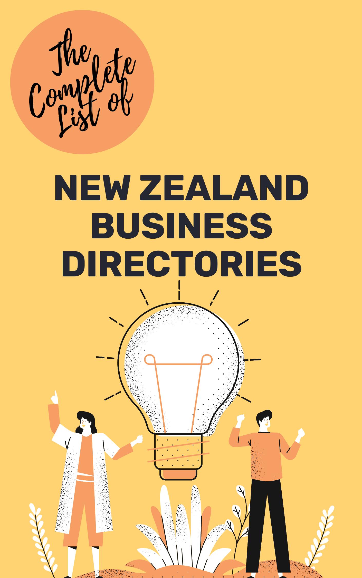 NZ BUSINESS DIRECTORIES DOWNLOAD